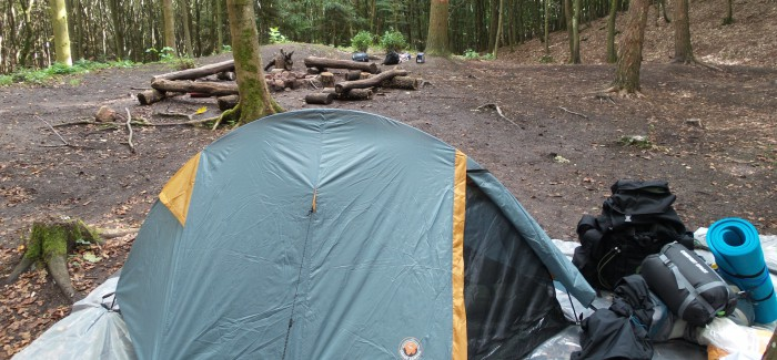 Camping im Pfälzer Wald